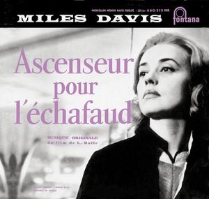 Ascenseur Pour L'échafaud Albumcover
