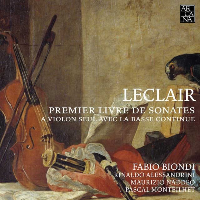 Leclair: Premier livre de sonates à violon seul avec la basse continue, Op. 1 (Excerpts)