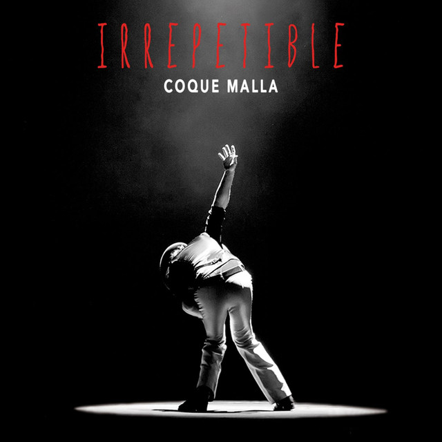 Album cover for Irrepetible (En directo) by Coque Malla