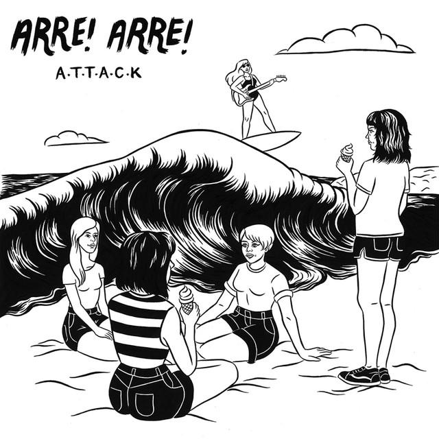 Skivomslag för Arre! Arre!: A.T.T.A.C.K