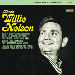 Here's Willie Nelson Albumcover