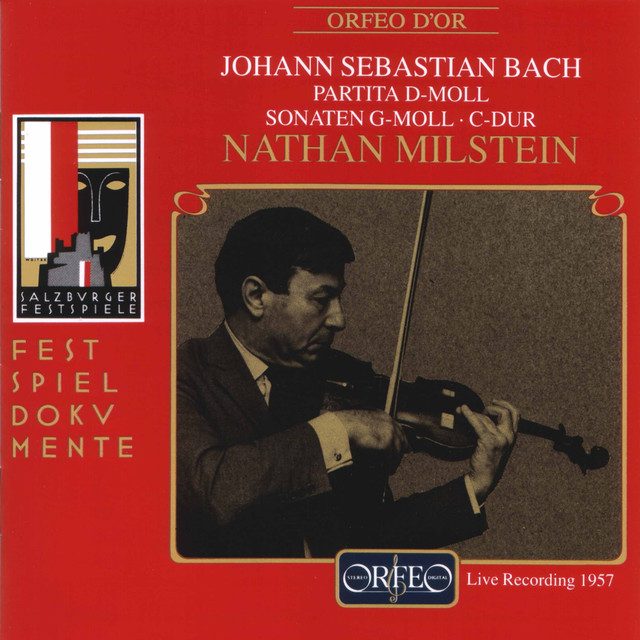 Bach: Works for Solo Violin (Live)