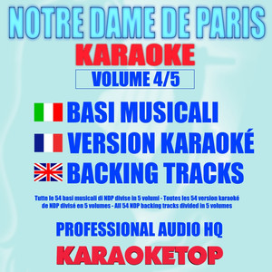Notre Dame De Paris - Karaoke - Volume 4/5 album