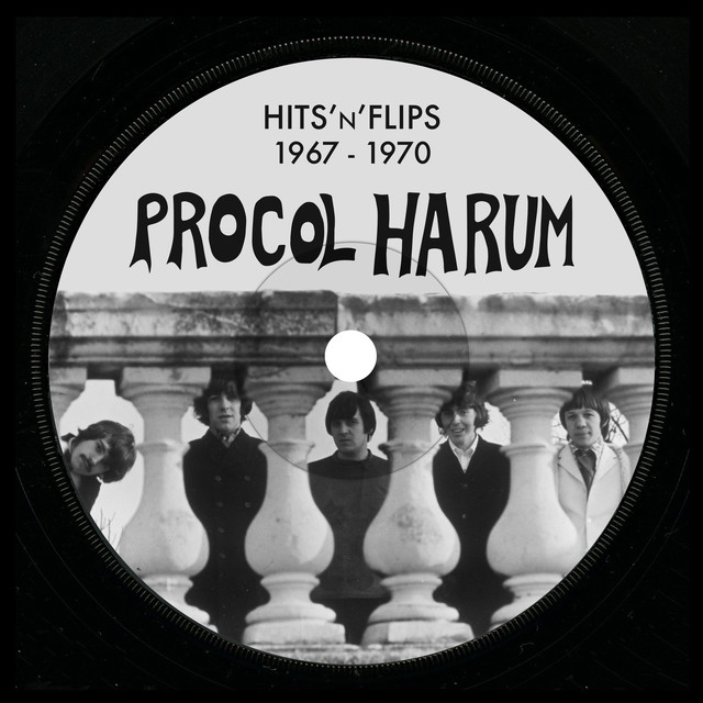 Album cover for Hits'n'Flips by Procol Harum