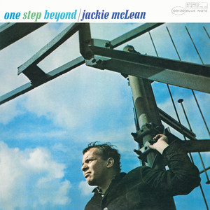 Album cover for One Step Beyond by Jackie McLean