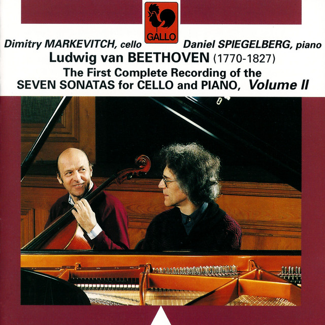Beethoven: The Seven Sonatas for Cello & Piano, Vol. 2 Albumcover