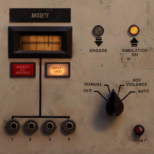 Album cover for Add Violence by Nine Inch Nails