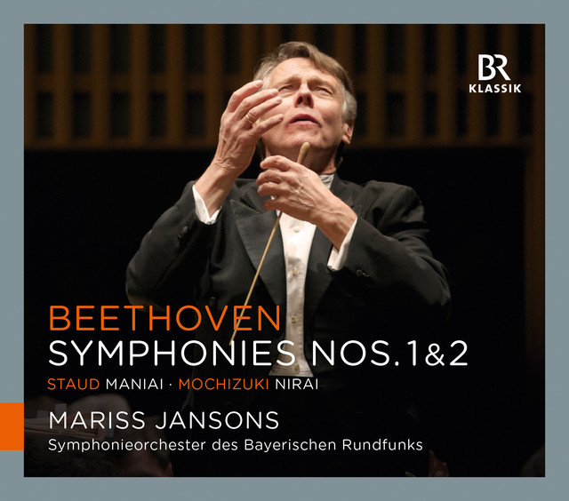 Beethoven: Symphonies Nos. 1 & 2 - Staud: Maniai - Mochizuki: Nirai Albumcover