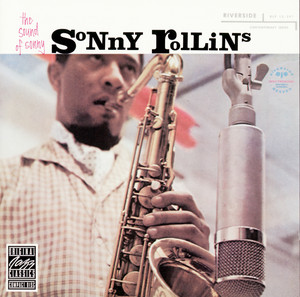 Album cover for The Sound of Sonny by Sonny Rollins