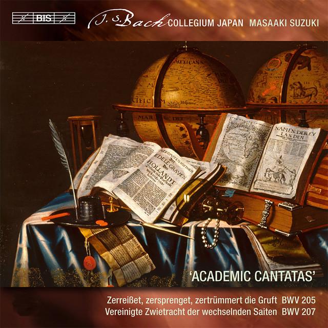Bach: Secular Cantatas, Vol. 4 (Academic Cantatas) Albumcover