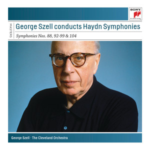 Szell Conducts Haydn Symphonies - Sony Classical Masters Albumcover