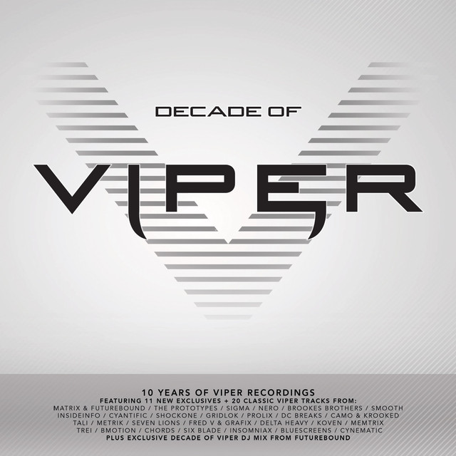 Various Artists Decade of Viper (10 Years of Viper Recordings) album cover