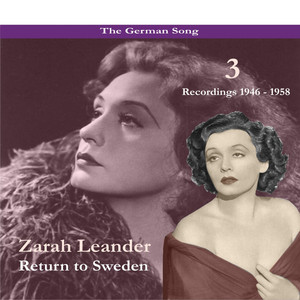 The German Song / Return to Sweden, Volume 3 / Recordings 1946 - 1958 album