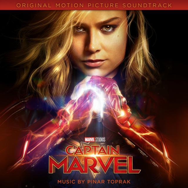 Album cover for Captain Marvel (Original Motion Picture Soundtrack) by Pinar Toprak