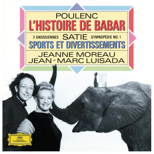 Satie: Piano Works / Poulenc: L'Histoire de Babar Albumcover
