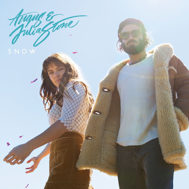 Album cover for Snow by Angus & Julia Stone