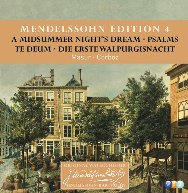 Mendelssohn Edition Volume 4 - Choral Music
