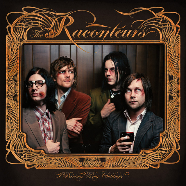 Album cover for Broken Boy Soldiers by The Raconteurs
