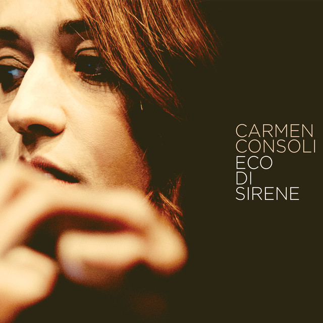 Album cover for Eco Di Sirene by Carmen Consoli