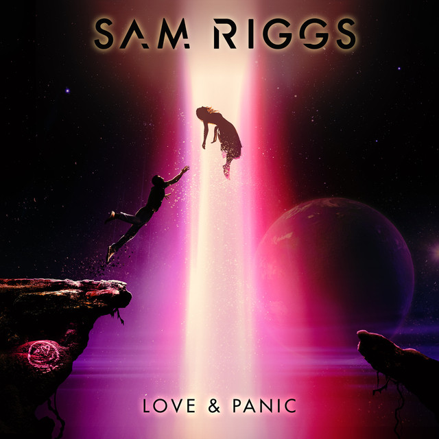 Album cover for Love & Panic by Sam Riggs