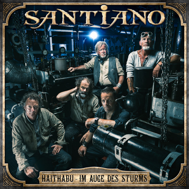 Album cover for Haithabu - Im Auge des Sturms by Santiano