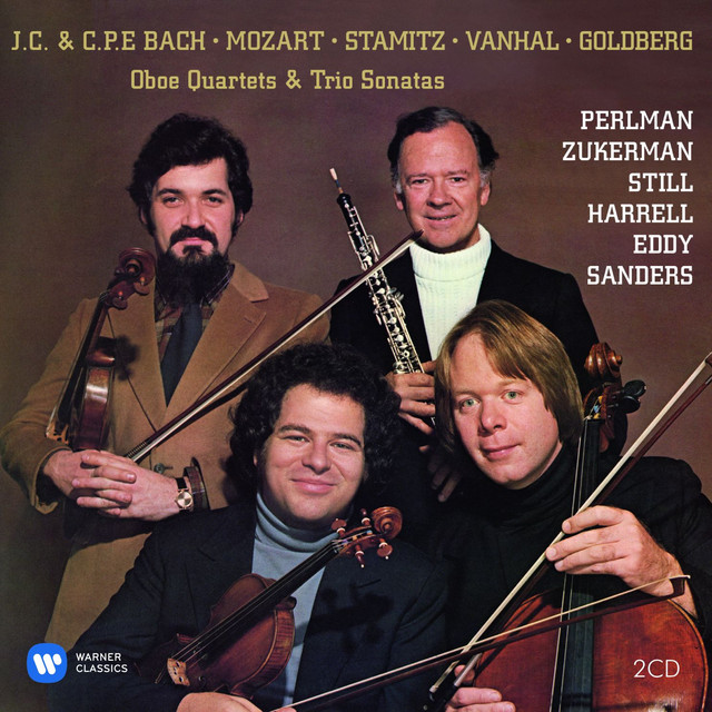 Oboe Quartets & Trio Sonatas Albumcover