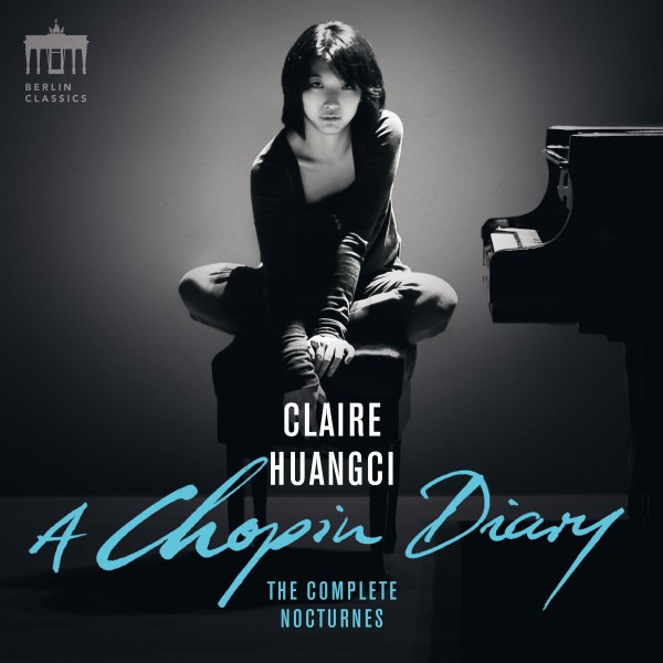 Album cover for A Chopin Diary (Complete Nocturnes) by Frédéric Chopin, Claire Huangci