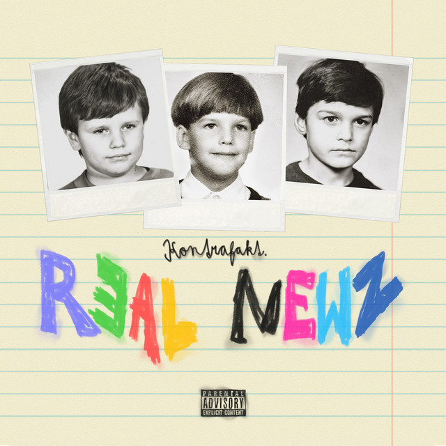Album cover for Real Newz by Kontrafakt