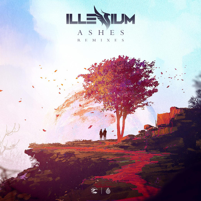 Album cover for Ashes (Remixes) by Illenium