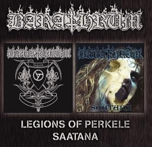 Legions of Perkele + Saatana album