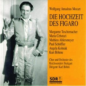 Die Hochzeit des Figaro Albumcover