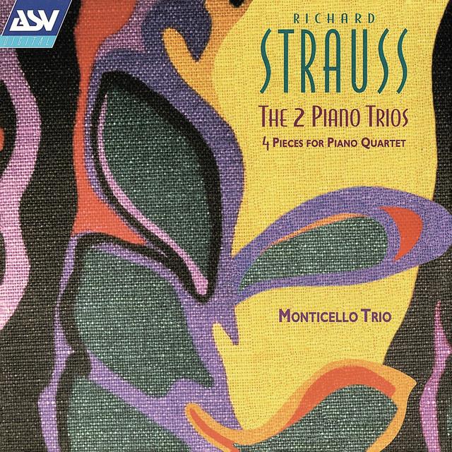 Richard Strauss: The 2 Piano Trios; 4 Pieces for Piano Quartet Albumcover