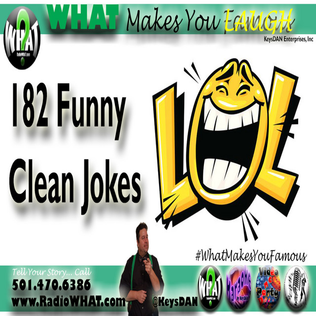 2019-04-21 182 Funny Clean Jokes #PODCAST