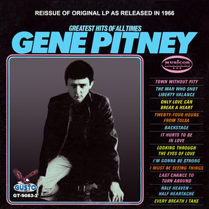 Gene Pitney Somewhere Inthe Country cover