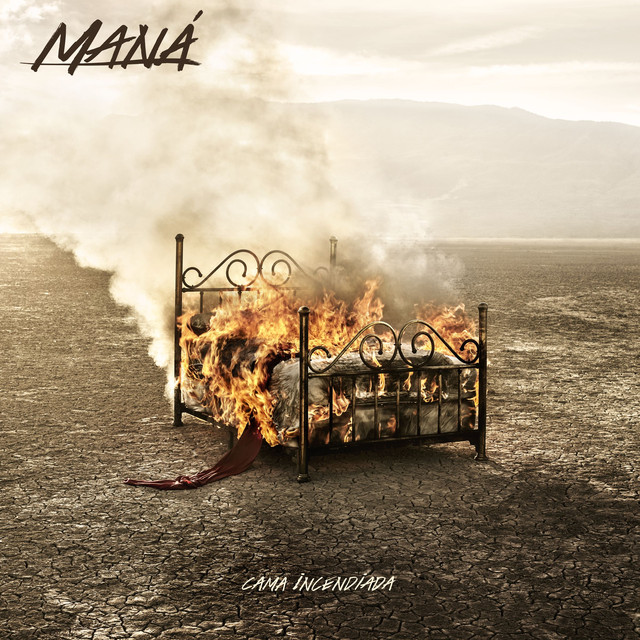 Maná Cama Incendiada album cover