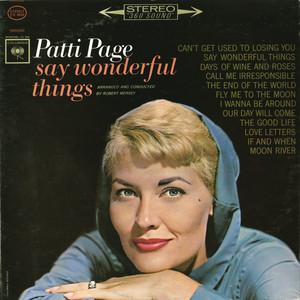 Say Wonderful Things album