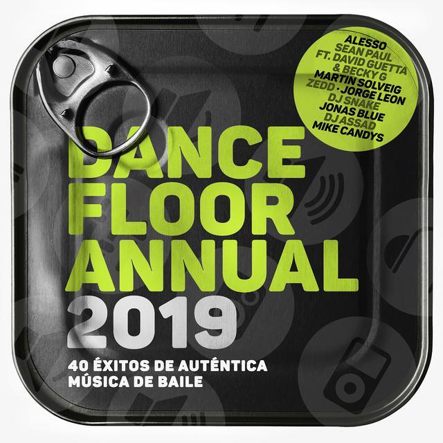 Various Artists Dancefloor Annual 2019 (40 Éxitos De Auténtica Música De Baile) album cover