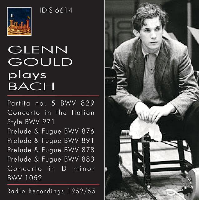 Glenn Gould plays Bach (1952-1955) Albumcover