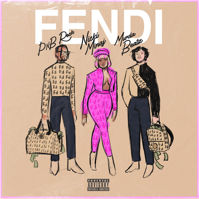 PnB Rock & Nicki Minaj & Murda Beatz - Fendi (feat. Nicki Minaj & Murda Beatz) cover