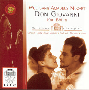 W. A. Mozart: Don Giovanni Albumcover