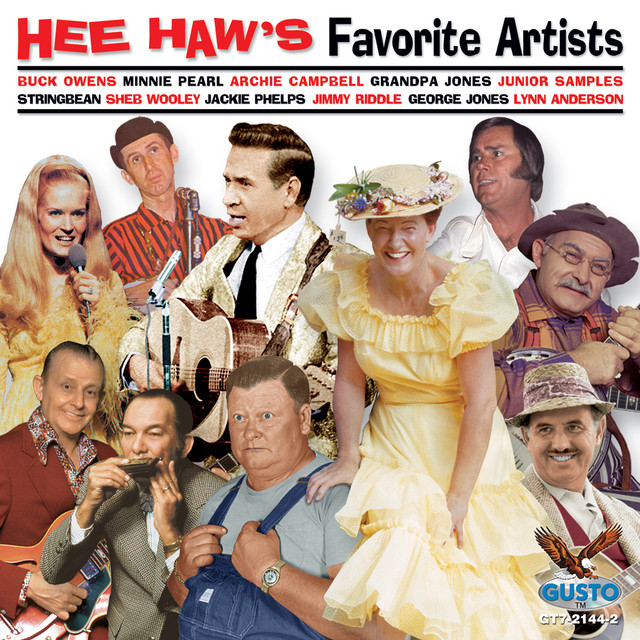 Various Artists Hee Haw's Favorite Artists album cover