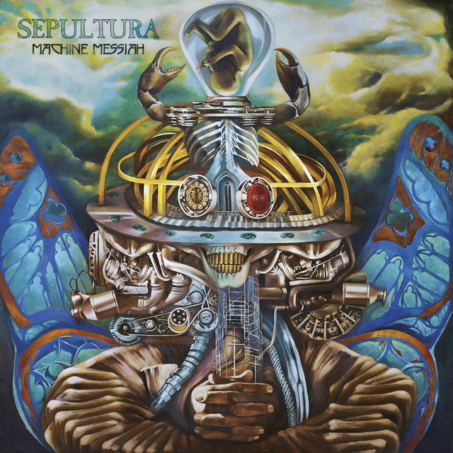Album cover for Machine Messiah by Sepultura