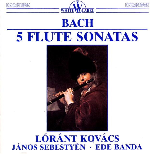 Bach: Flute Sonatas Albumcover