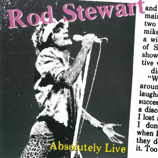 Rod Stewart Absolutely Live album cover