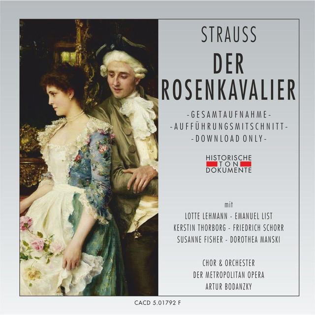 Richard Strauss: Der Rosenkavalier Albumcover