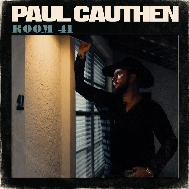 Album cover for Room 41 by Paul Cauthen