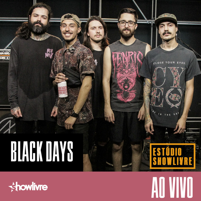 Black Days no Estúdio Showlivre (Ao Vivo)