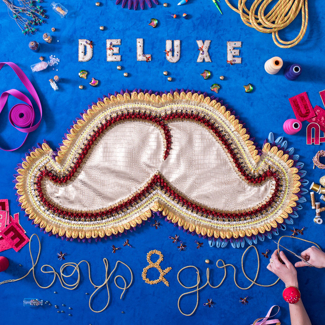 Album cover for Boys & Girl by Deluxe
