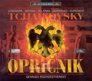 Tchaikovsky: Oprichnik Albumcover