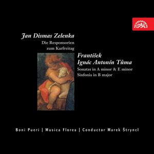 Zelenka: Die Responsorien - Tuma: Sonatas & Sinfonia Albumcover